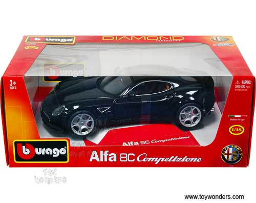 Alfa Romeo C Competizione Hard Top BK Scale Bburago - Alfa romeo model cars
