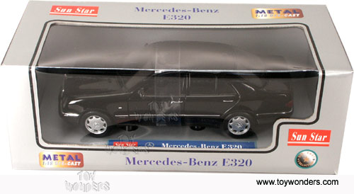 1998 mercedes benz e320 by sun star 1 18 scale diecast for Sun motor cars mercedes benz