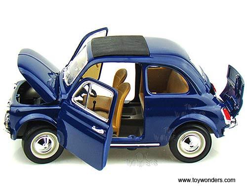 Bburago Gold Fiat 500 F Hard Top 1965 1 18 Scale Diecast Model