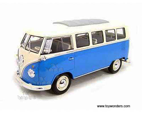 1962 Volkswagen Classical Bus By Welly 1 18 Scale Diecast