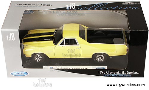 Welly - Chevrolet El Camino SS 396 Pickup Truck (1970, 1/18 scale