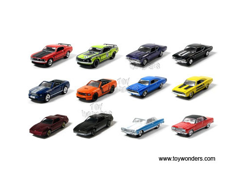 Stock Custom Toy Diecast Cars Series By Greenlight Muscle Car
