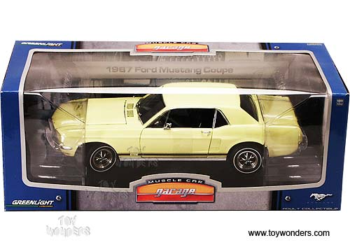 Exceptional Greenlight Muscle Car Garage   Ford Mustang Coupe Hard Top (1967, 1/18