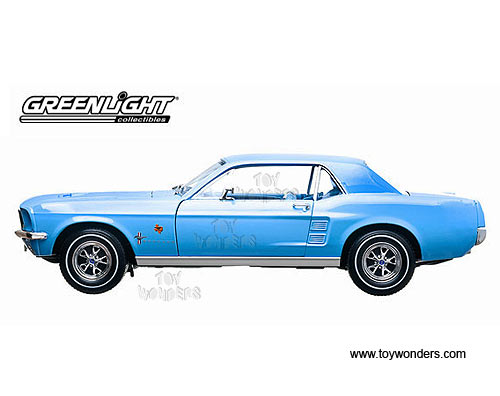 1967 Ford Mustang Coupe Lone Star Limited Edition Bluebonnet