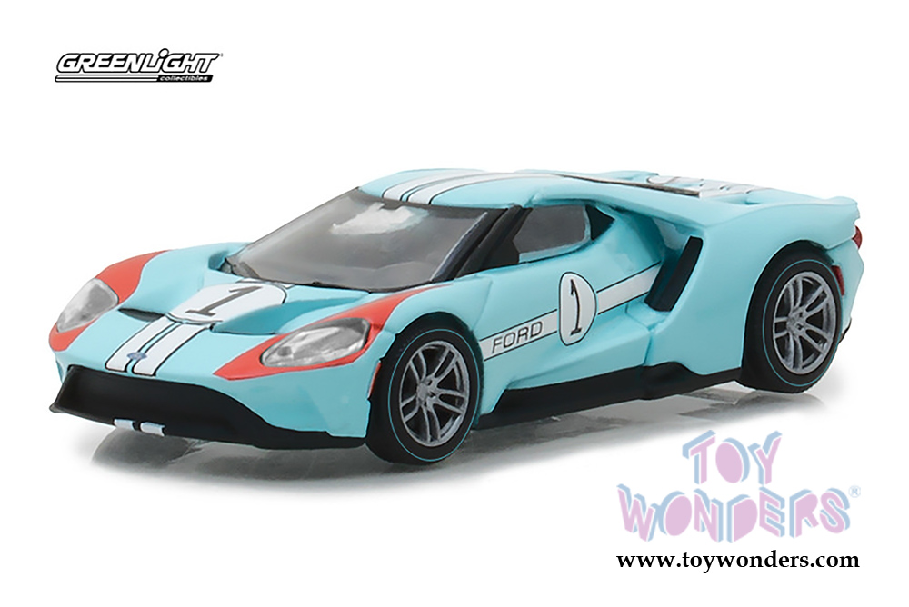Greenlight Ford Gt Racing Heritage Series  Scalecast Model Car