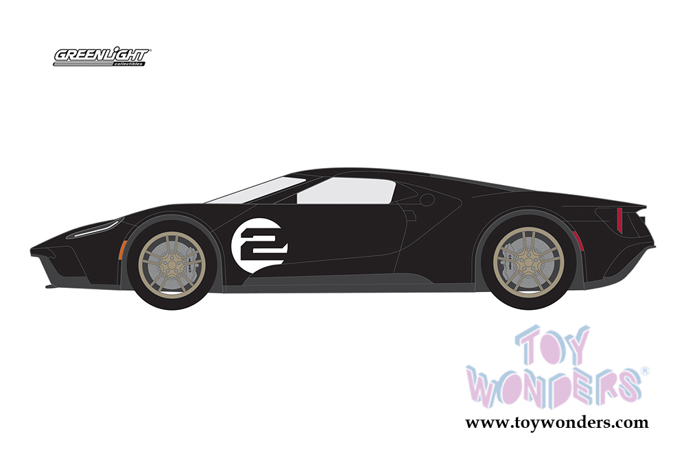 Greenlight Ford Gt Racing Heritage Series   Ford Gt Mk Ii Tribute