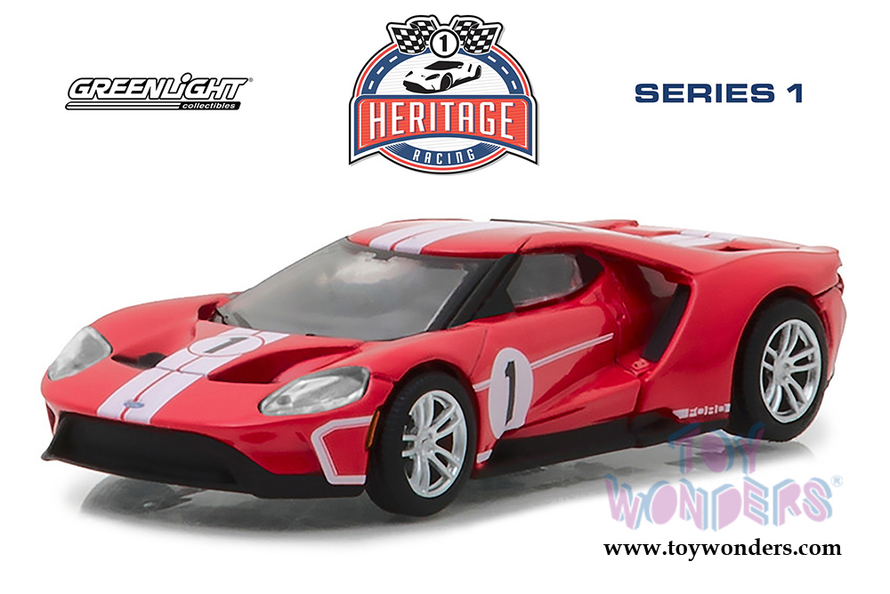 Greenlight Ford Gt Racing Heritage Series   Ford Gt Mk Iv Tribute