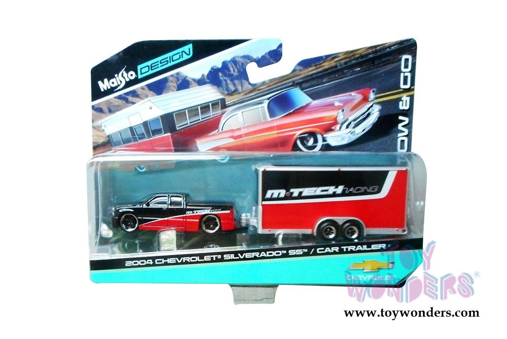 2004 Chevrolet® Silverado™ SS™ Pick-Up Truck/Car Trailer 15368SVI 1 ...