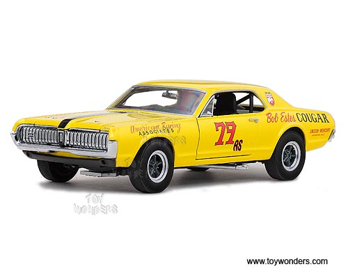 Sun Star - Mercury Cougar Racing #79 Michael Eisenberg (1967, 1:18, Yellow) 1576