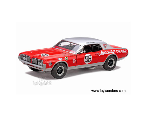 Sun Star - Mercury Cougar Racing #98 Dan Gurney (1967, 1:18, Red) 1578