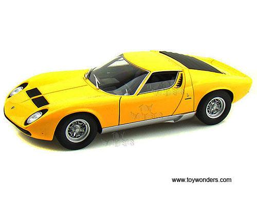 Welly Lamborghini Miura Sv Hard Top 1971 118 Scale Diecast