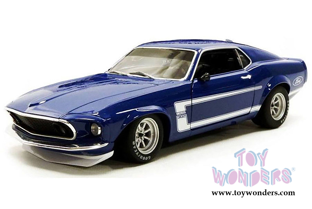 1969 Ford Mustang Boss 302 Trans Am 1801819B 1/18 scale Acme ...
