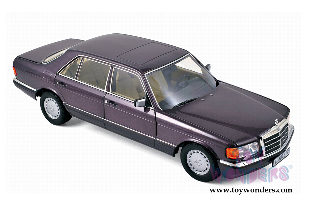 1991 mercedes benz 560 sel hard top 183544 1 18 scale for Mercedes benz scale model cars