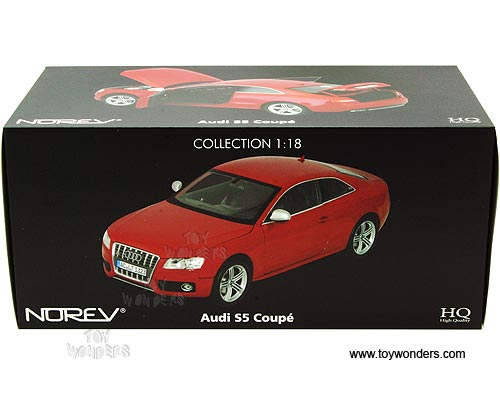 Norev Audi S5 Coupe Hard Top 2009 1 18 Scale Cast Model