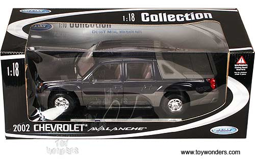 Diecast Collectibles Welly Chevrolet Avalanche Pickup