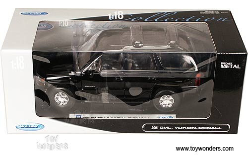 Welly - GMC Yukon Denali SUV (2001, 1:18, Black) 19863