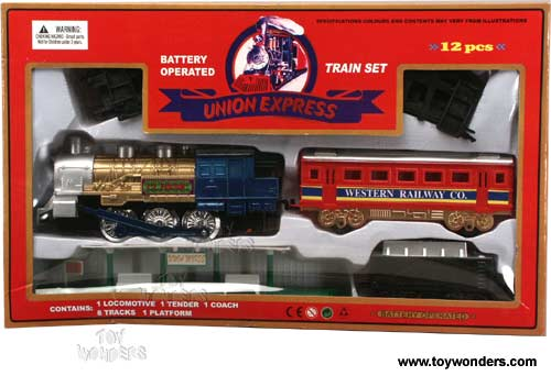 Battery operated train set ebay 2014
