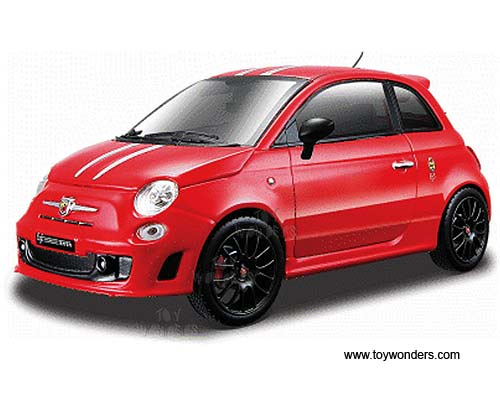 fiat abarth 695 tributo ferrari hard top 21070r 1 24 scale. Black Bedroom Furniture Sets. Home Design Ideas