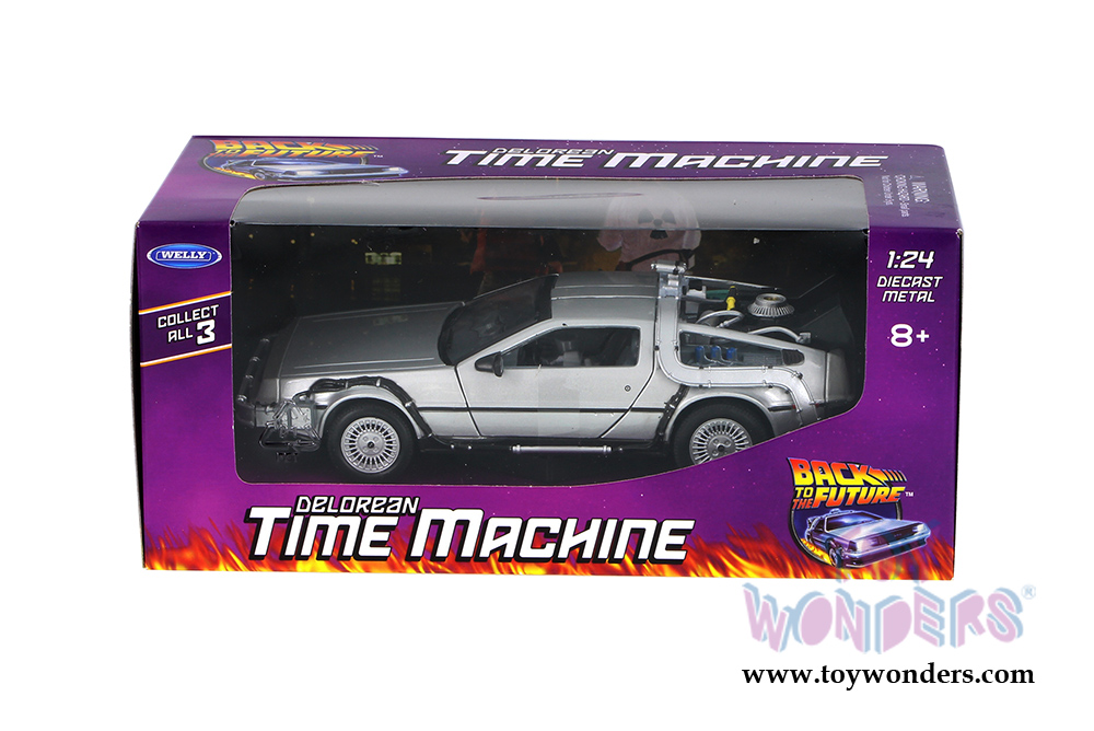 1//24 Waterslide Decals Set for Back to the Future Delorean