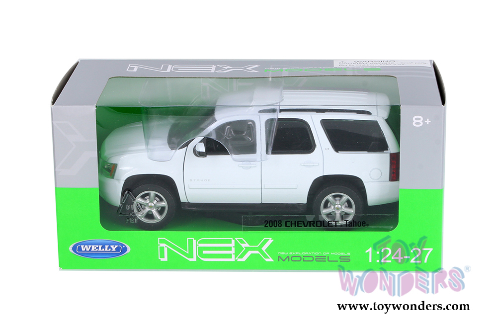 Welly Chevrolet Tahoe Suv 2008 1 24 Scale Cast Model