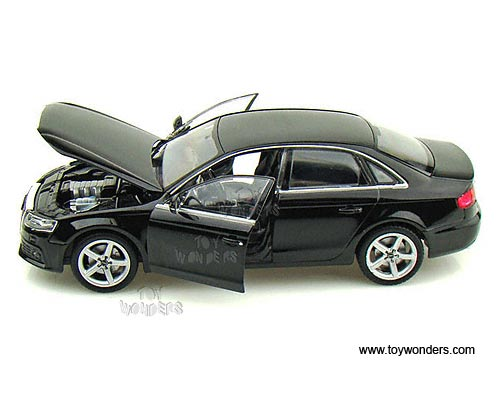 Welly   Audi A4 Hard Top (1/24 Scale Diecast Model Car, Black