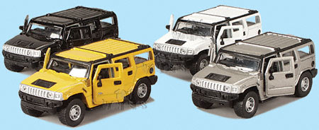 hummer H2 Power Racer SUV by Maisto 1/46 scale cast model car ...