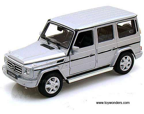Mercedes Benz G Class Suv By Welly 1 24 Scale Diecast Model Car