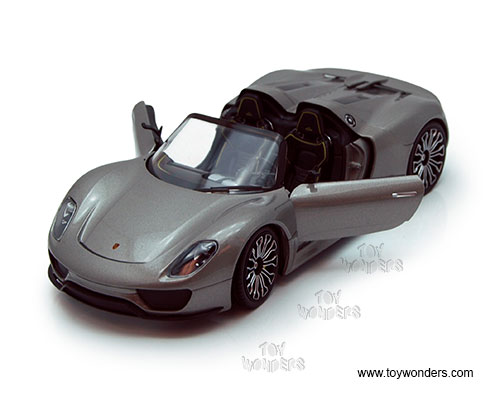 porsche 918 spyder convertible by welly 1 24 scale diecast model car wholesale 24031 4d. Black Bedroom Furniture Sets. Home Design Ideas