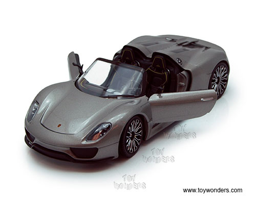 porsche 918 spyder convertible by welly 1 24 scale diecast model car wholesale 24031wgy. Black Bedroom Furniture Sets. Home Design Ideas