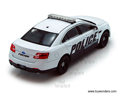 Welly - Ford Police Interceptor Hard Top (1/24 scale diecast model car  sc 1 st  Toy Wonders & Ford Police Interceptor Hard Top by Welly 1/24 scale diecast model ... markmcfarlin.com