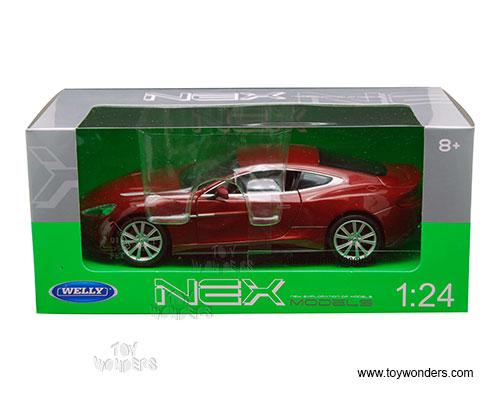 Welly   Aston Martin Vanquish Hard Top (1/24 Scale Diecast Model Car,