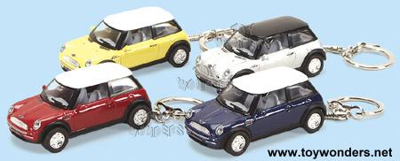 2003 New Mini Cooper Key Chains By Kinsmart 1 56 Scale Diecast Model