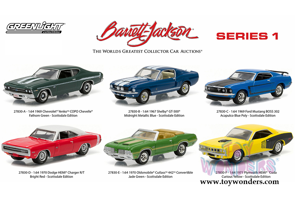Barrett Jackson Series 1 27830/48 1/64 scale Greenlight wholesale ...