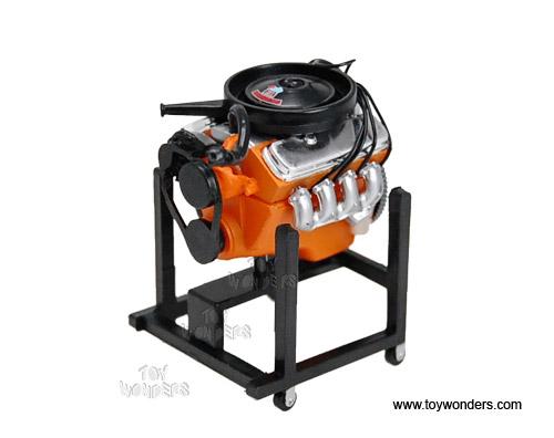 Phoenix Mini Engine Chevy V8 Block 454 1 24 Orange 28007m