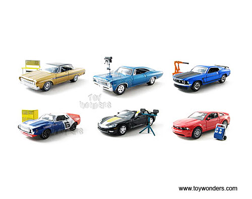 hobby Collection toy diecast cars series 5 w/ Shop Tool Accessories ...