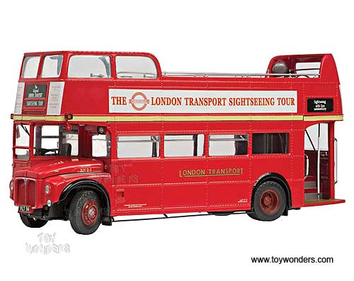 Sun Star - Routemaster Tour Bus RM94 - VLT 94 Open top -The Original London Transport Sightseeing Tour Bus (1:24, Red) 2910