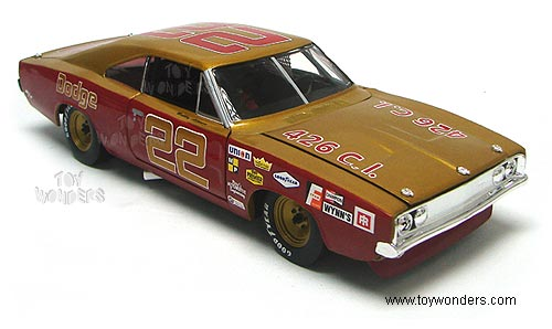 1969 Dodge Charger 500 Race Car 22 Bobby Allison By Ertl Mopar