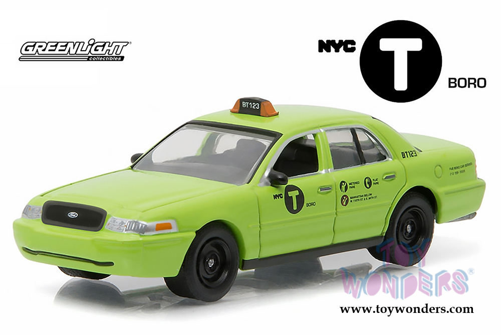 2011 ford crown victoria nyc boro taxi 29858 1 64 scale for Ford models nyc
