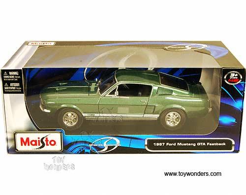 модель maisto ford mustang 1967