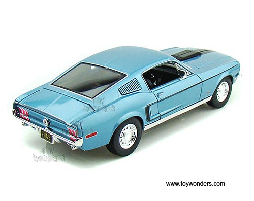 maisto special edition ford mustang gt cobra jet hard top 1968 1