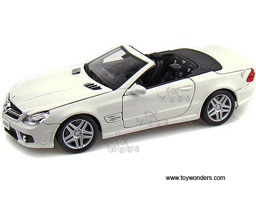 Mercedes Benz Sl63 Amg Convertible 31168w 1 18 Scale Maisto Wholesale Diecast Model Car