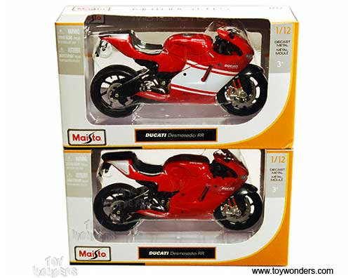 Ducati Desmosedici Motorcycle 31190 1 12 Scale Maisto Wholesale