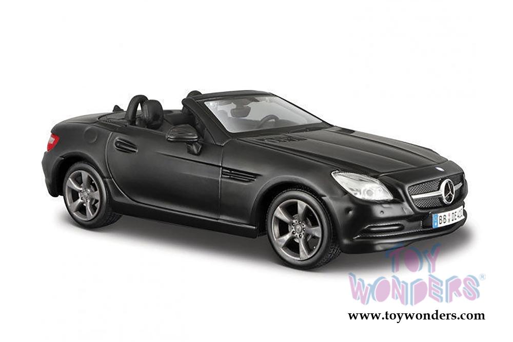 2011 mercedes benz slk convertible 31206mk 1 24 scale for Mercedes benz toy car models