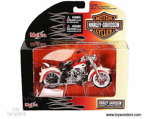 Harley Davidson Motorcycles Toy Diecast Cars Series 21 By Maisto 1