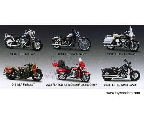 Maisto Harley Davidson Motorcycles Series