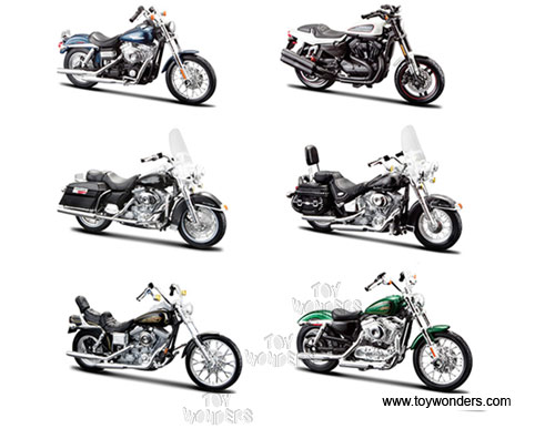 Harley-Davidson Motorcycles cast Series 32 31360/32 1/18 scale ...