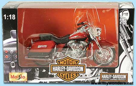 Harley Davidson Motorcycles Toy Diecast Cars Series 6 By Maisto 1 18
