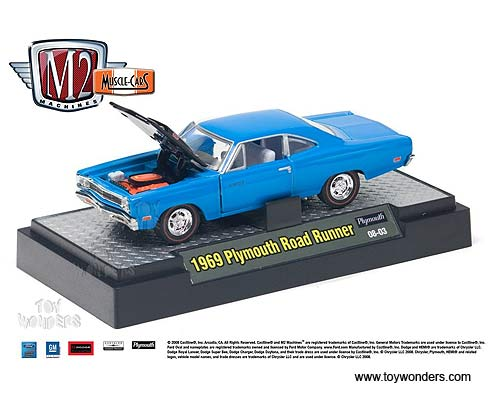 Muscle Cars By Castline Machines Scale Diecast Model