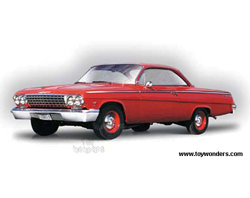 1962 Chevy Bel Air Hard Top 31641R 1/18 scale Maisto wholesale ...