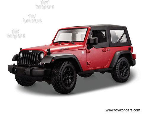 3ad8ea45dd4 Jeep Wrangler Hard Top by Maisto 1/18 scale diecast model car wholesale  31676R